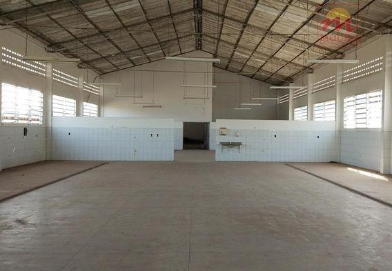 Galpão Comercial Para Venda E Locação, São Lázaro, Macapá. - Ga0021