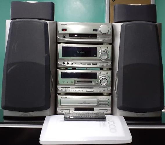 System Kenwood Xd-9580md Gold Japonês Cd Md Am Fm