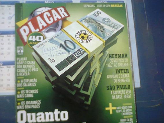 Revista Placar Ed. 1346 Setembro 2010