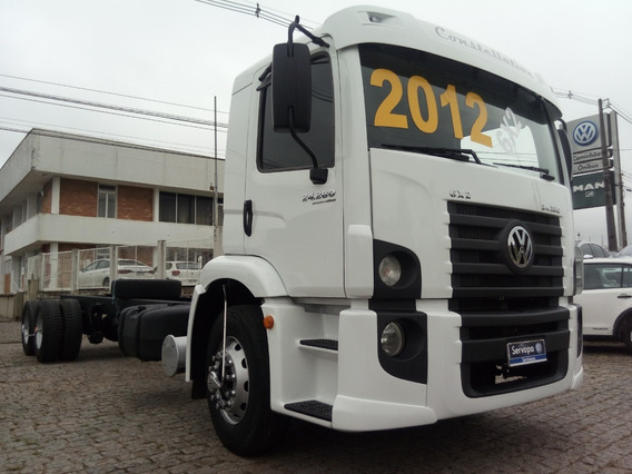 Vw 24.280 Truck 6x2 - Constellation Ano 2012/12 Chassi Longo