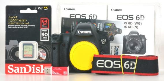 Canon 6d Somente 25 Mil Disparos 102053002335