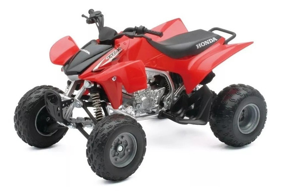 Cuatriciclo Honda Trx450 R Escala 1:12 New Ray Rojo Playking