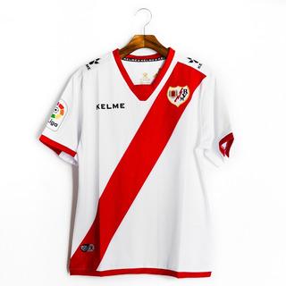 Camisas De Futebol Rayo Vallecano 2017/18 Kelme
