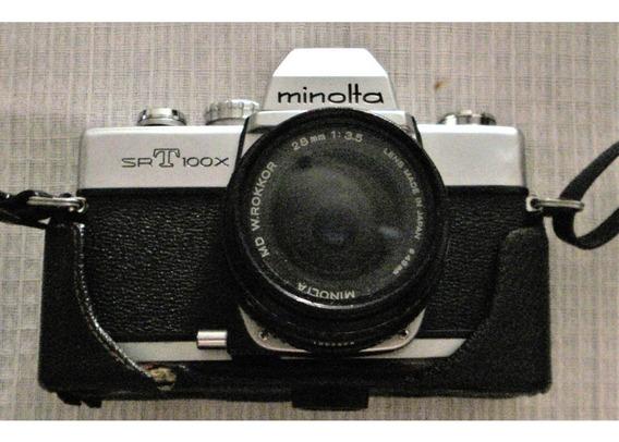 Camara Minolta Srt100x Solo 1 Lente (ofrece Y Vemos)