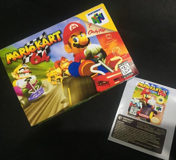 Super Mario Kart (caixa+label) Kit 3