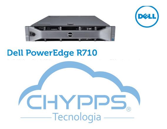 Servidor Dell R710 Dual Six X5670 128gb Ram 2 Fontes 870w