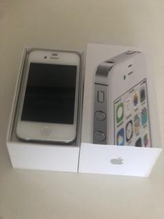 Celular iPhone 4s Branco 8gb