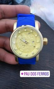Relógio Invicta Yakuza Pulseira Azul