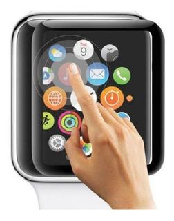 Protector Vidrio Pantalla Smartwatch Apple Full Cover