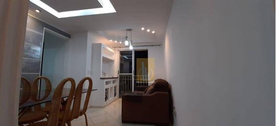 Apartamento Todo Mobiliado Com 3 Dormitórios Para Alugar, 60 M² Por R$ 1.100/mês - Jardim São Miguel - Ferraz De Vasconcelos/sp - Ap0169