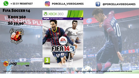 Jogo Fifa 14 Original Midia Física Para Xbox 360