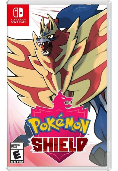 Pokemon Shield Switch Mídia Física Novo