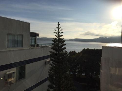Imagem 1 de 26 de Cobertura Com 3 Dormitórios, 2 Suites,com Vaga Dupla De Garagem A 50 Metros Da Praia De Itaguaçu - Co0474