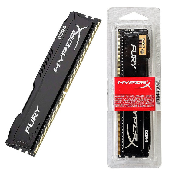 Kingston Memoria Hyperx Fury 8gb Ddr4 2400mhz Gamer Original