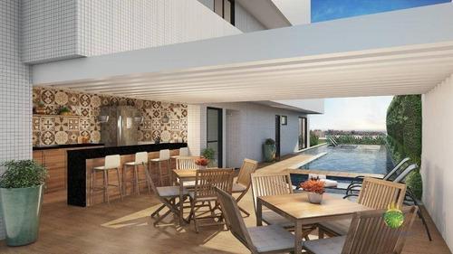 Apartamento À Venda, 72 M² Por R$ 484.900,00 - Caminho Das Árvores - Salvador/ba - Ap0648