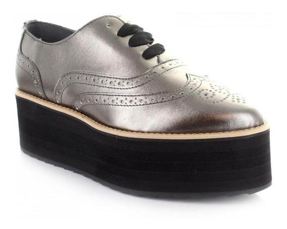 Zapato Para Mujer Brantano 9246-049771 Color Plata