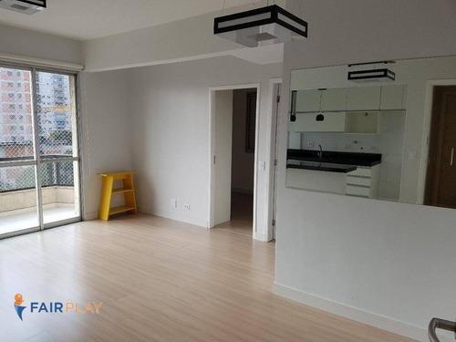 Apartamento Campo Belo 2 Dorms 1 Suite 2 Vagas 72m - Ap5751