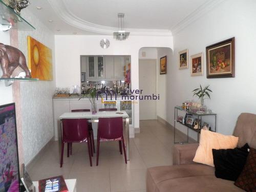 Imagem 1 de 15 de Lindo Apartamento Em Região Arborizada Do Morumbi!!! - Nm3520