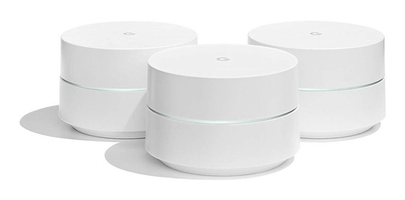 Google Home Wifi Kit 3 Unidades Router Y Repetidores