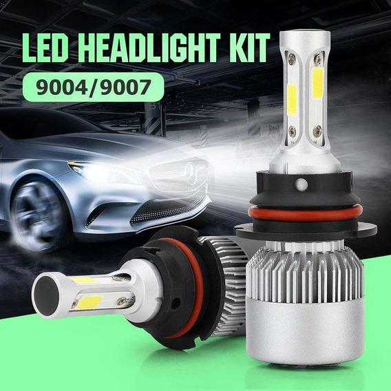 2 Lampada Hb1 9004 9007 Super Led 50wts 6000k 4000 Lúmens