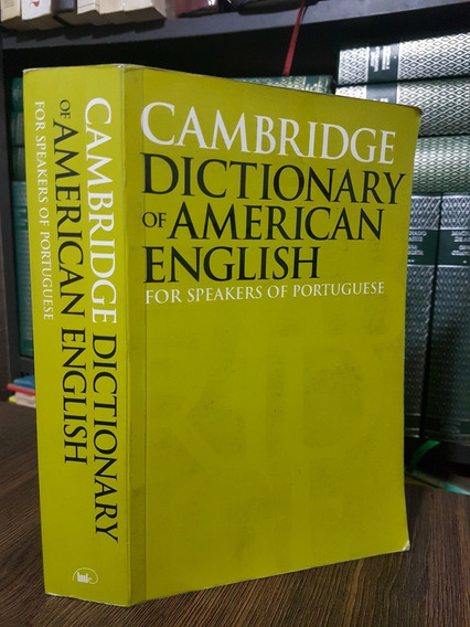 Cambridge Dictionary Of American English For Speakers Of Por