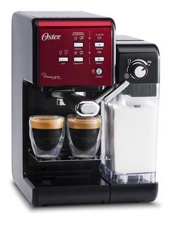 Cafetera Oster PrimaLatte BVSTEM6701 Roja 220V