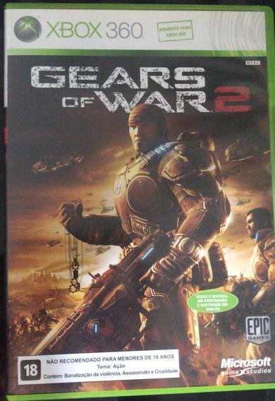 Xbox 360 Jogo Gears Of War 2 - Midia Fisica - Frete R$10