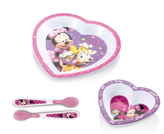 Kit Completo De Alimentação Minnie - Multikids Baby