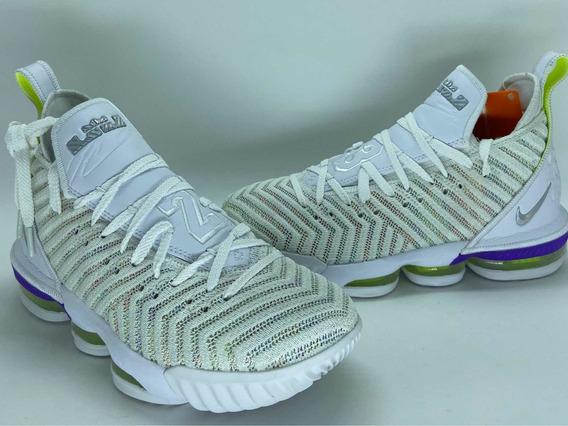 Tênis Nike Lebron 16 Xvi - Basquete - buzz Lightyear