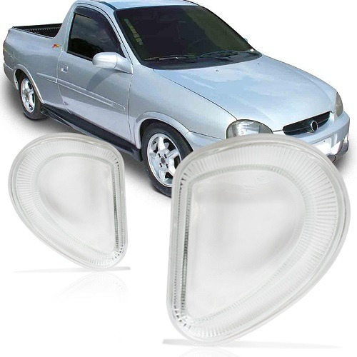 Lente Farol Milha Corsa G1 00/10 Pickup Wagon Sedan Classic