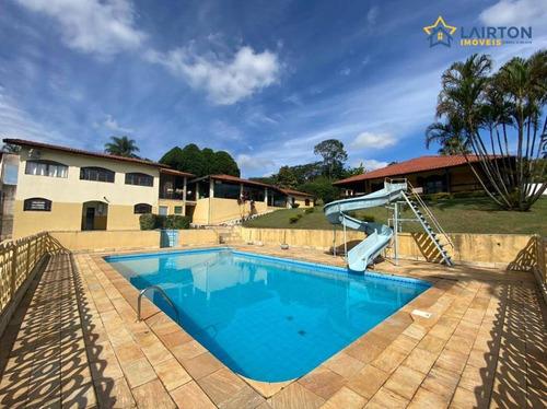 Chácara Com 4 Dormitórios À Venda, 4000 M² Por R$ 850.000,00 - Tanque Preto - Nazaré Paulista/sp - Ch1458