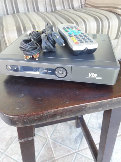 Receptor De Tv Digital - Via Embratel Com Cartão