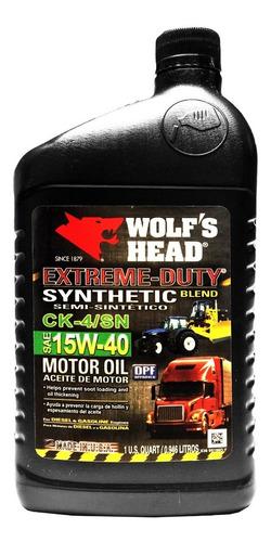 Aceite Semisintetico 15w40 Api Sn . Tienda Fisica Y Envios
