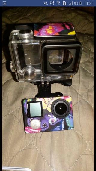 Câmera Digital Filmadora Gopro Hero 4 Silver Edition 12mp 4k