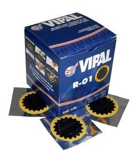 Remendo A Frio R-01 (40mm) - Caixa C/100 Peças - Vipal