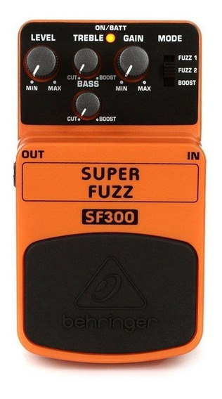 Pedal Behringer Sf300 Super Fuzz