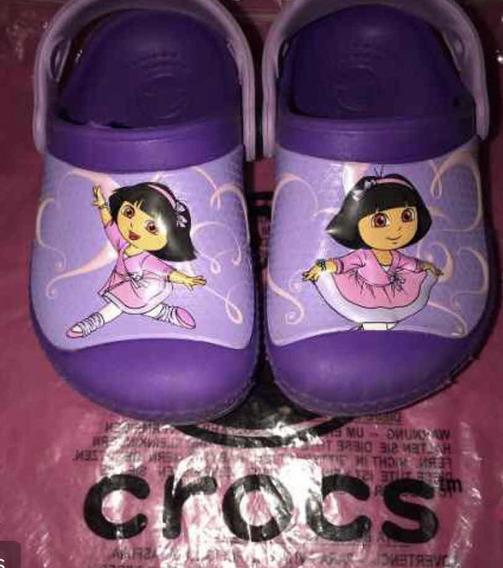 Crocs Disney Dora La Exploradora Importadas N 22/23 Divinas!