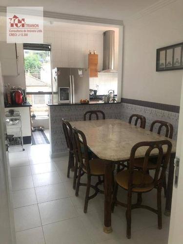 Apartamento Com 4 Dormitórios À Venda, 170 M² Por R$ 850.000,00 - Vila Bastos - Santo André/sp - Ap2060