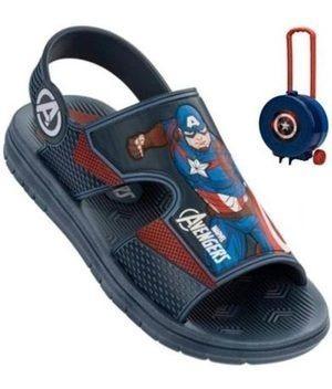 Papete Men Avengers Hero Packs Capitao America Grendene Kids