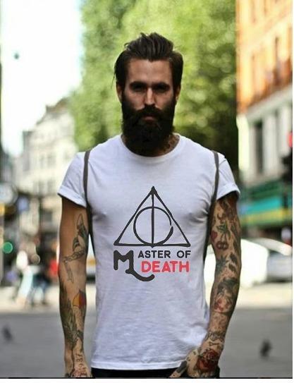 Camiseta Master Of Death _ Saga Harry Potter