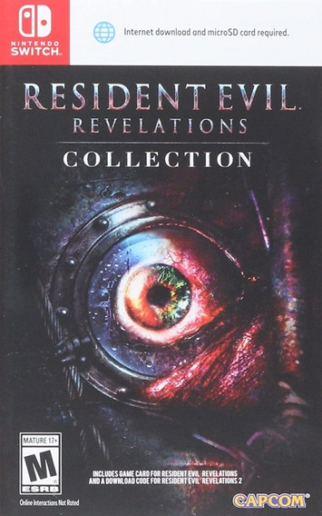 Resident Evil: Revelations Collection - Jogo Switch (pacote