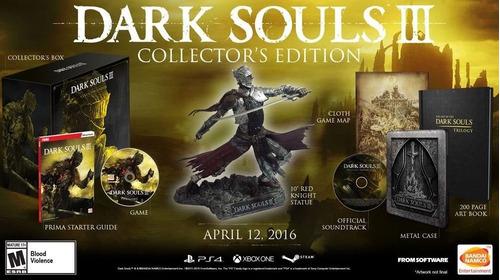 Dark Souls Iii Collectors Edition Xbox One