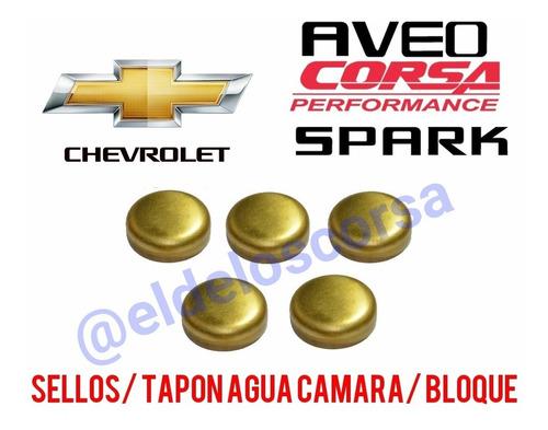 Sello-tapon Agua Camara Motor Corsa-spark-aveo 20/30/40mm