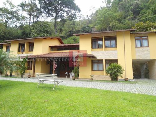 Imagem 1 de 30 de Casa Com 8 Dormitórios, 492 M² - Venda Por R$ 2.300.000,00 Ou Aluguel Por R$ 12.000,00/mês - Cascata Dos Amores - Teresópolis/rj - Ca0489