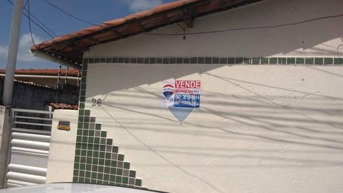 Condomínio Com 4 Casas À Venda - 280m² - Ponta Negra - Natal/rn - Ca0154