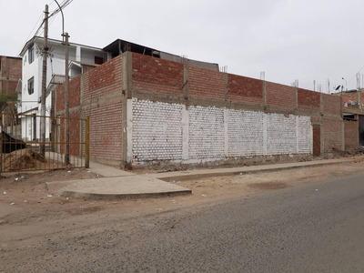 Esquina Terreno Residencial En San Juan De Miraflores