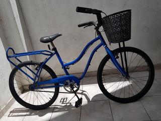 Bicicleta Paseo Playera R24 Freno En Manubrio