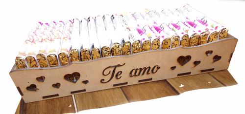 Imagen 1 de 10 de Pack De Regalo 21 Chocolates 80% 85% 90% Cacao Almendra Mani
