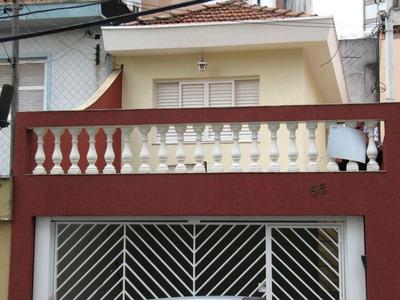 Casa Residencial À Venda, Jardim Anália Franco, São Paulo. - Ca2871