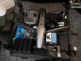 Dji Inspire 2 Drone Prores Y Cinemadng, 4 Baterías, 480gb